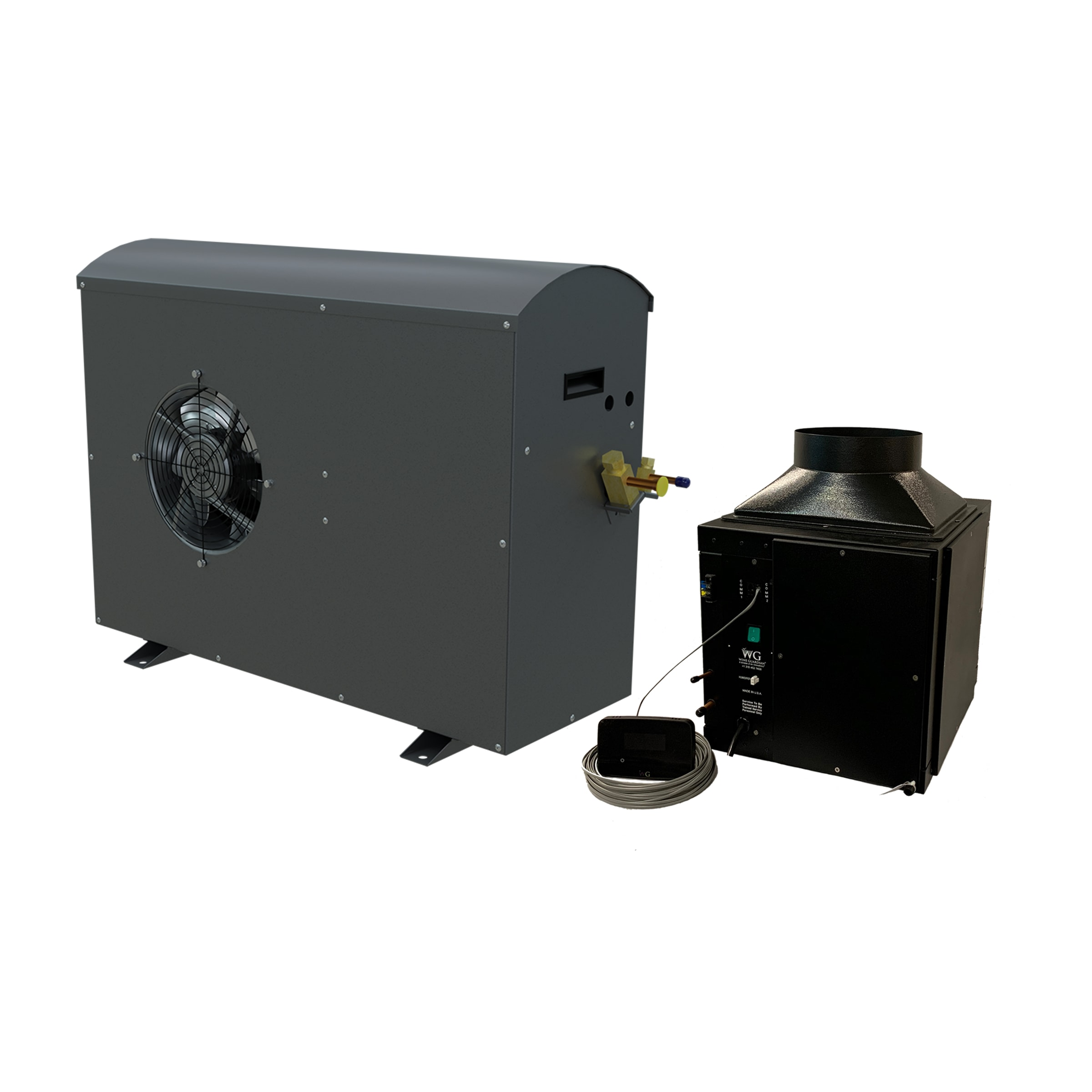 DS025 Ducted Split Wine Cellar Cooling Unit 60Hz