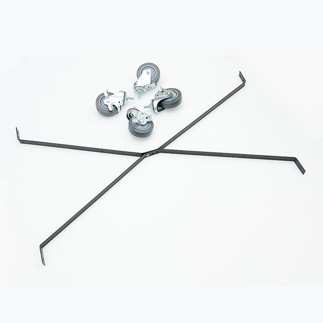 Island Display Rack Caster Kit
