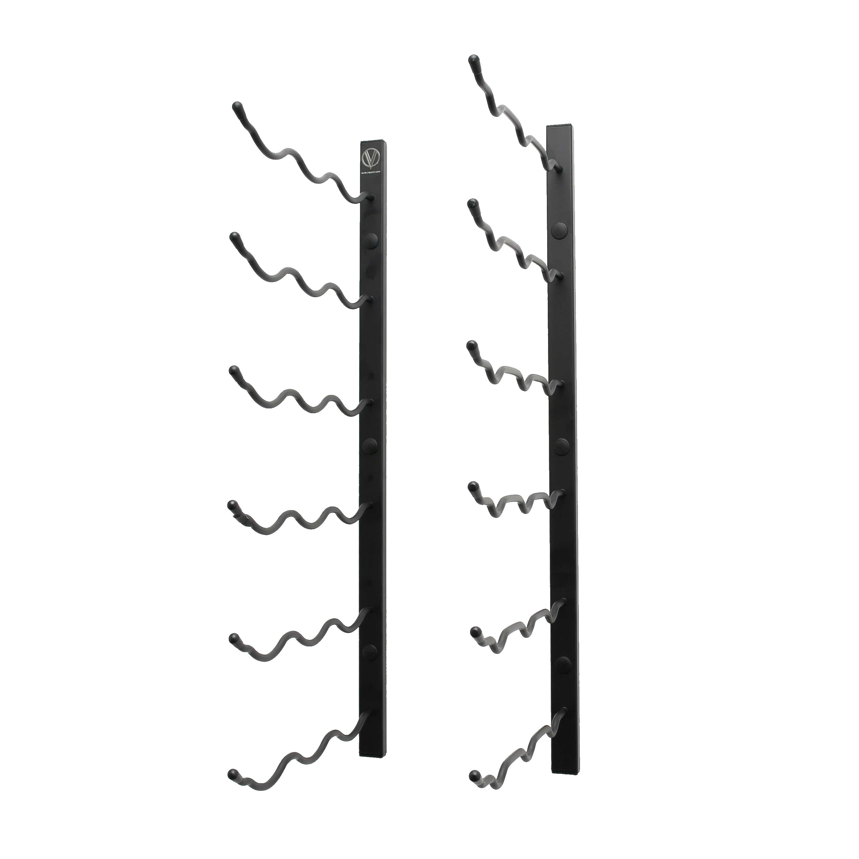 2′ Wall Mounted Wine Rack 3 Deep