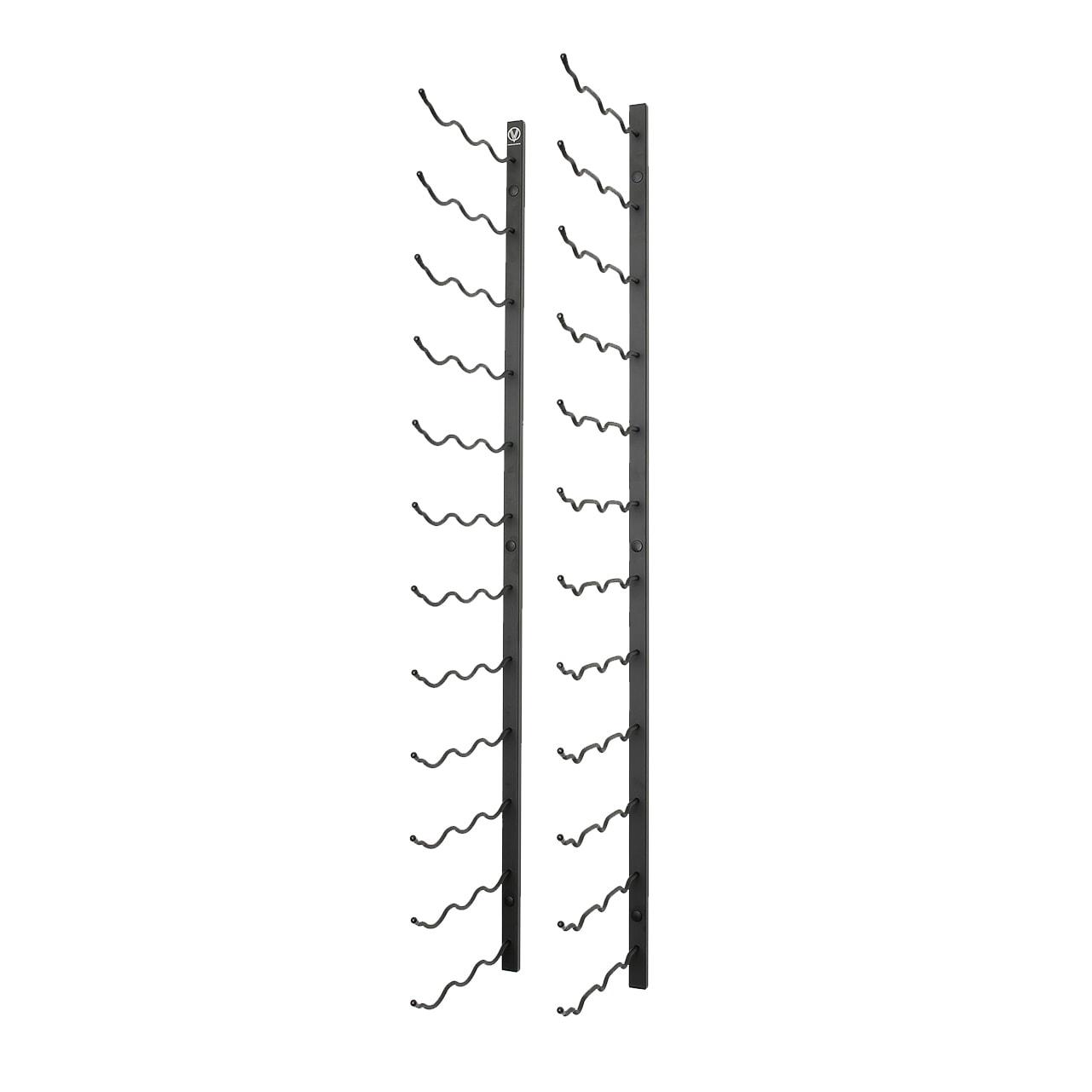 4′ Wall Mounted Wine Rack 3 Deep