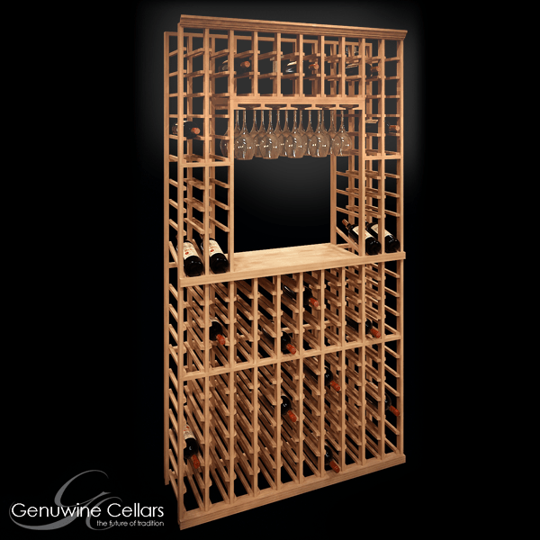 750ml Tasting Display Rack