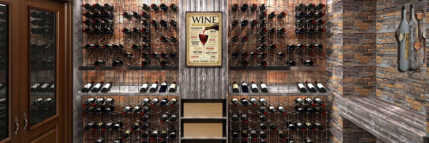 Cable Wine Racking Systems